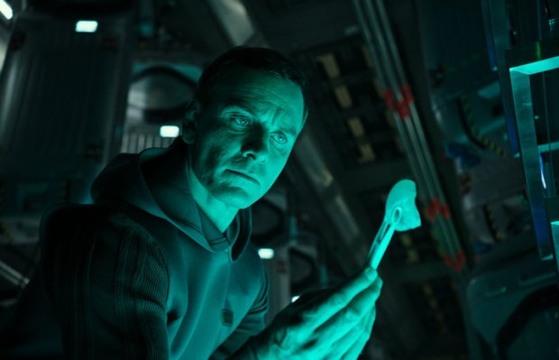 Michael Fassbender (Walter) stars in ALIEN: COVENANT